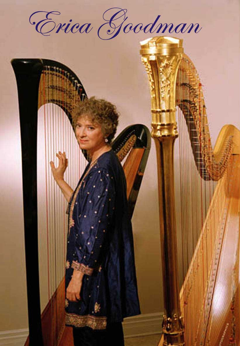 Erica with harps